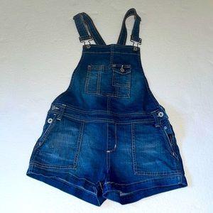 Arizona Ladies Denim short Overalls